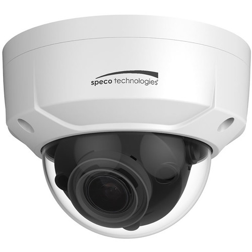 Speco Technologies 4MP Day/Night IP Dome Camera with 2.7 to 12mm Motorized Lens (White Housing)