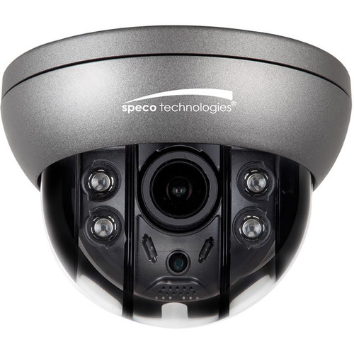 Speco Technologies O4FD5M 4MP Outdoor Vandal-Resistant Network Dome Camera with Night Vision