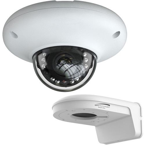 Speco Technologies O4MD3 4MP Outdoor Network Mini-Dome Camera with Night Vision