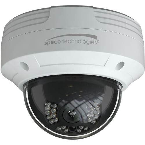 Speco Technologies O4VLD5 4MP Outdoor Network Dome Camera with Night Vision
