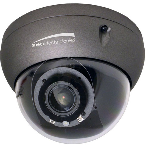 Speco Technologies 5 MP Indoor/Outdoor IP Dome Camera with 3.6 to 10mm Motorized Lens