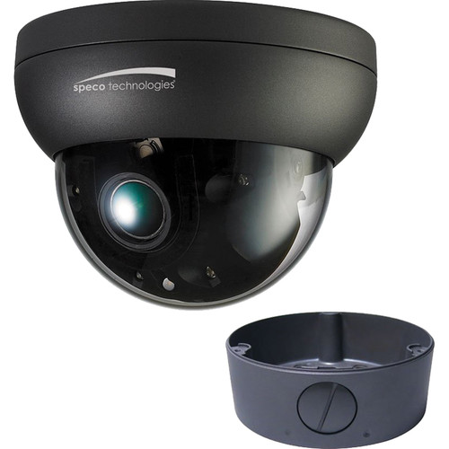 Speco Technologies O6FD4M 6MP Outdoor Network Dome Camera with Night Vision & 2.7-12mm Lens