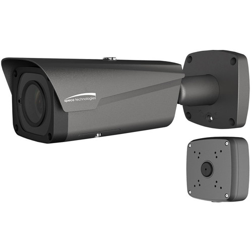 Speco Technologies O8B2M 8MP Outdoor Network Bullet Camera with Night Vision & 2.7-12mm Motorized Lens