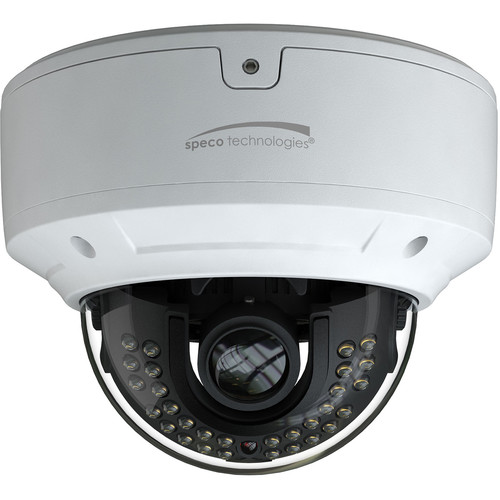 Speco Technologies O8D6M 4K UHD Outdoor Network Dome Camera with Night Vision (White)