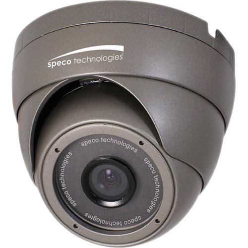 Speco Technologies OIPC22T7G OnSIP 420 TVL Indoor/Outdoor Turret IP Camera with 4.3mm Fixed Lens (Dark Gray)