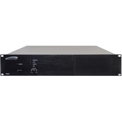Speco Technologies P500A 500W RMS Class D Power Amplifier