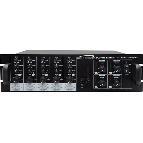 Speco Technologies PL200M Commercial Amplifier (160W)