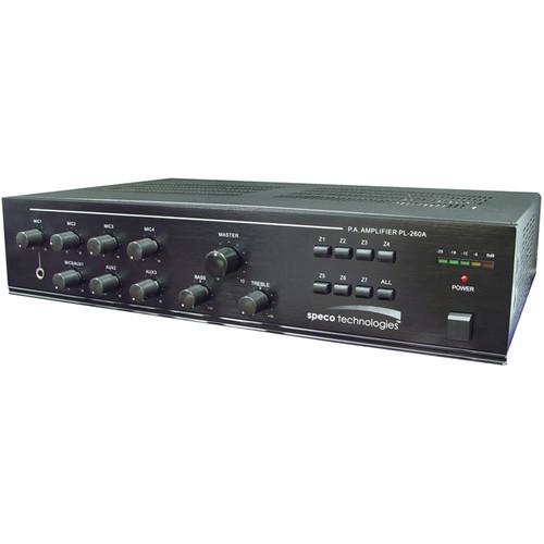 Speco Technologies Seven Zone 260W Commercial Amplifier