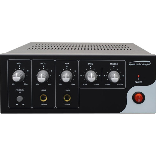 Speco Technologies PVL Series 30W Public Address Amplifier