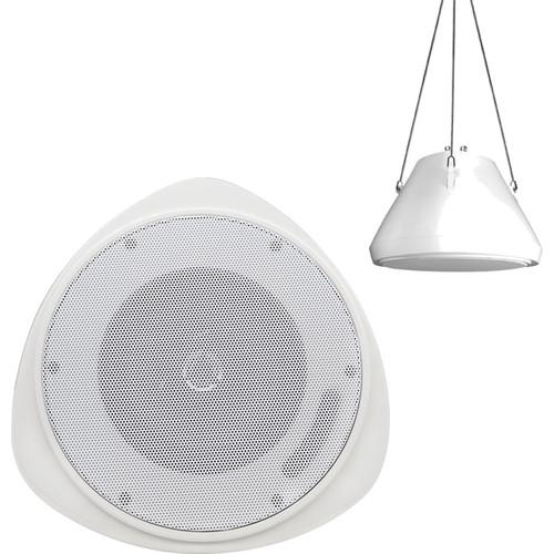 "Speco Technologies 5"" 30W Pendant Mount Speaker (Off-White)"