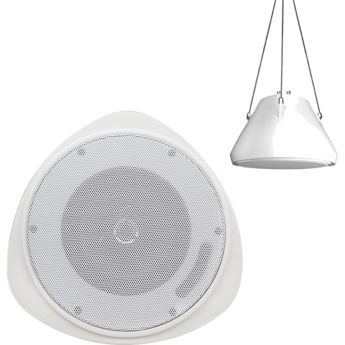 "Speco Technologies 5"" 30W Pendant Mount Speaker (Off-White)"