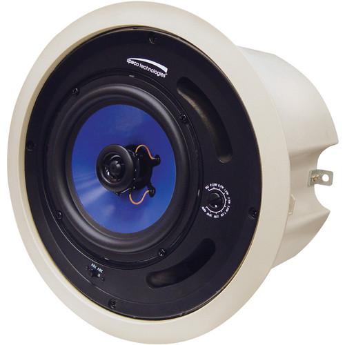 """Speco Technologies SP5MAT 5.25"""" 70/25V Back Can Speaker (Off-White)"""