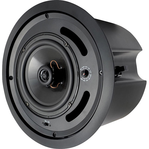 "Speco Technologies SP5MATB 5.25"" 70/25V Back Can Speaker (Black)"