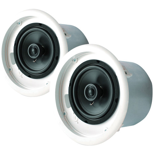 "Speco Technologies NEXUS UL Contractor Series 5.25"" 70V Commercial Metal Back Can Speaker"