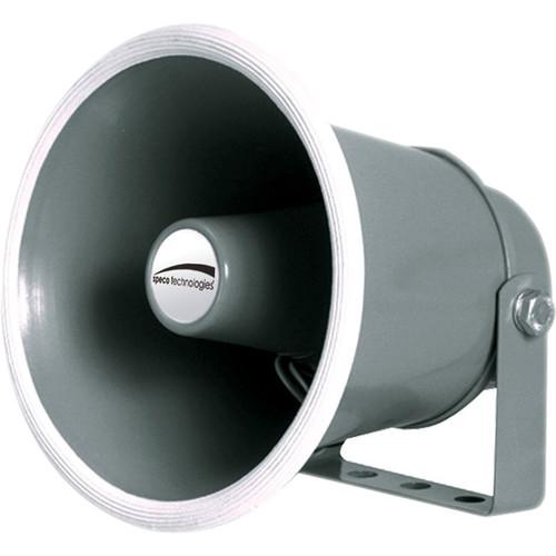 "Speco Technologies SPC10 6"" 10W Weather-Resistant PA Horn Speaker (8 Ohms)"