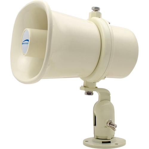 "Speco Technologies Commercial Series 7 x 5"" Weather-Resistant 10W PA Horn Speaker (Khaki)"