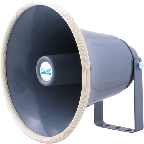 "Speco Technologies SPC15 8"" 15W Weather-Resistant PA Horn Speaker (8 Ohms)"