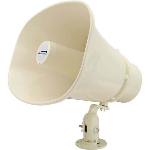 "Speco Technologies Commercial Series 11 x 8"" Weather-Resistant 30W PA Horn Speaker (Khaki)"