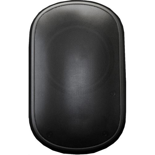 """Speco Technologies SPSPCE6OTB 6.5"""" Contractor Elite Series Indoor/Outdoor Wall-Mount Speaker (70V, Black, Pair)"""