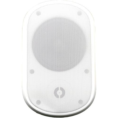 """Speco Technologies SPSPCE6OTW 6.5"""" Contractor Elite Series Indoor/Outdoor Wall-Mount Speaker (70V, White, Pair)"""