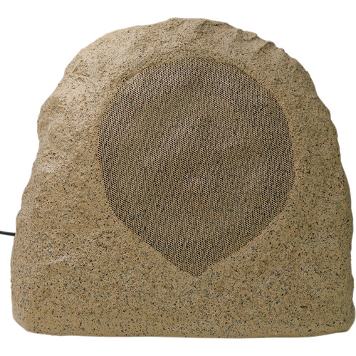 Speco Technologies SPR8TB 70/25V Weather-Resistant Outdoor Rock Speaker (Sandstone Brown)