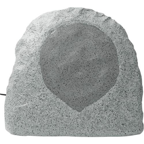 Speco Technologies SPR8TG 70/25V Weather-Resistant Outdoor Rock Speaker (Granite Gray)