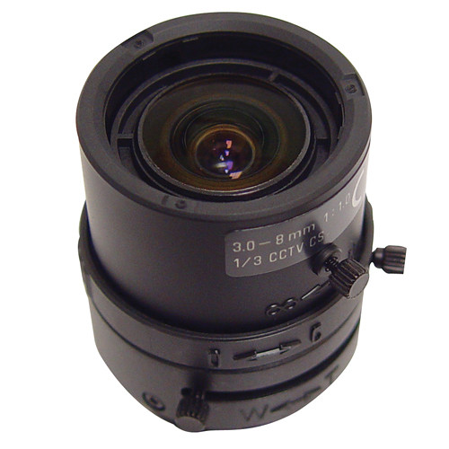 Speco Technologies VF358DC 3.5-8.0 mm Auto Iris Varifocal Lens