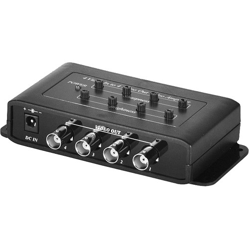 Speco Technologies VID4AMP 4 Input to 4 Output Video Amplifier