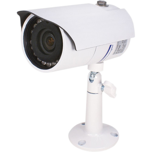 Speco Technologies IR Indoor/Outdoor Weather-Resistant Bullet Camera with 2.8 to 12mm Varifocal Lens (White)
