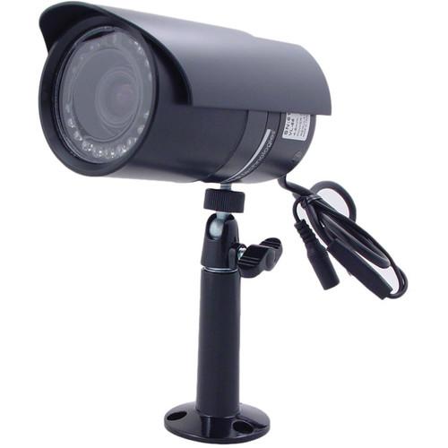 Speco Technologies IR Indoor/Outdoor Weather-Resistant Bullet Camera with 2.8 to 12mm Varifocal Lens (Black)