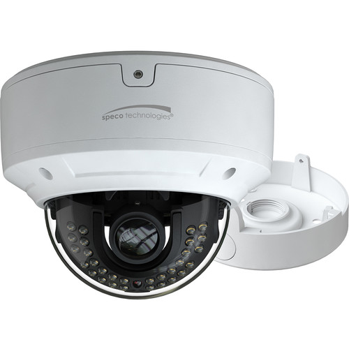 Speco Technologies VLDT6M 2MP Outdoor Analog HD Turret Camera with Night Vision & Motorized 2.8-12mm Lens