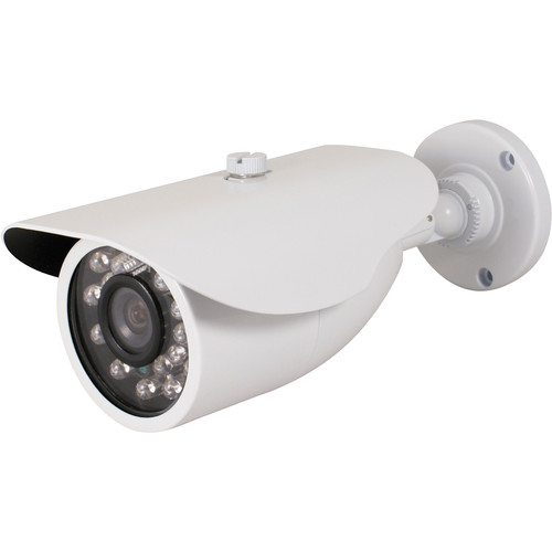 Speco Technologies VLEDB1HW 960H Indoor/Outdoor IR Bullet Camera with 2.8 to 12mm Lens (NTSC, White)