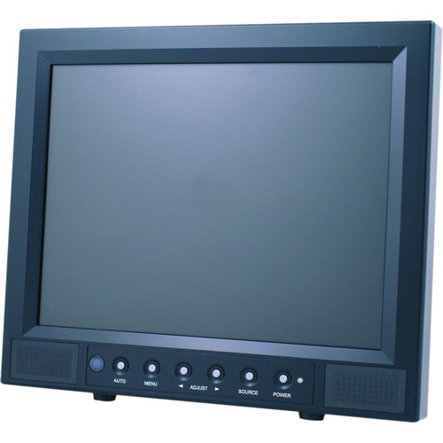 """Speco Technologies VM10LCD 10"""" VGA Color TFT LCD Monitor with Remote Control"""