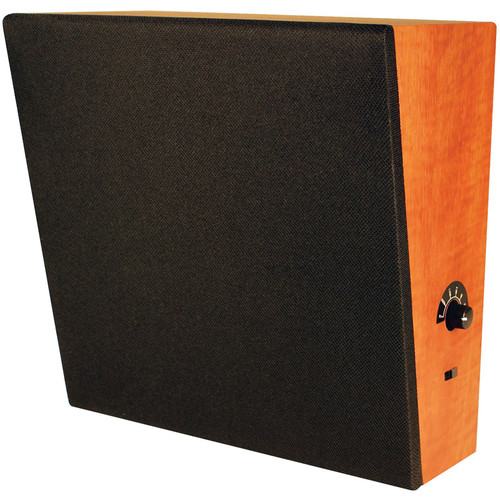 """Speco Technologies WB86T Sloped-Front Fully Enclosed Wall Baffle Speaker with 8"""" Dual-Cone Driver"""
