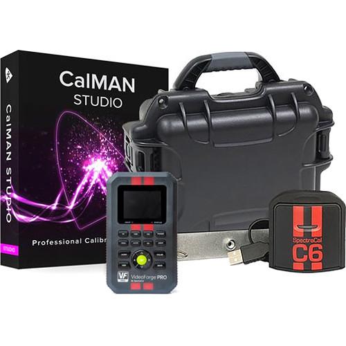SpectraCal CalMAN Studio with SpectraCal C6 HDR2000 Colorimeter & VideoForge Pro Generator