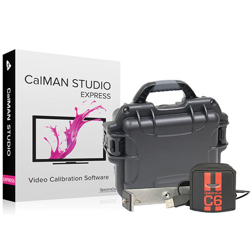 SpectraCal CalMAN Studio EXPRESS with C6 Colorimeter