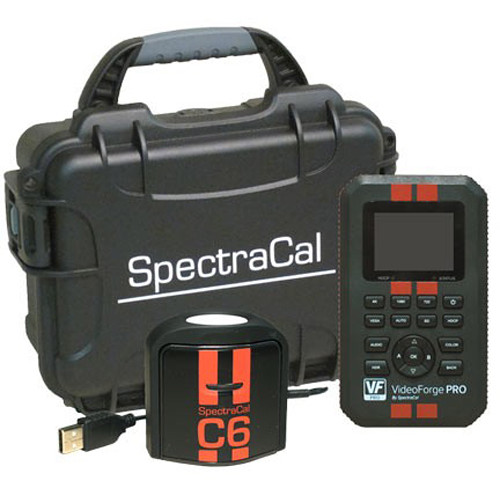 SpectraCal VideoForge Pro Generator and C6 HDR2000 Colorimeter Kit