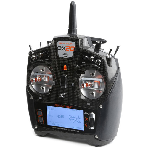 Spektrum DX20 20-Channel DSMX Mode 2 Transmitter with AR9020 Receiver