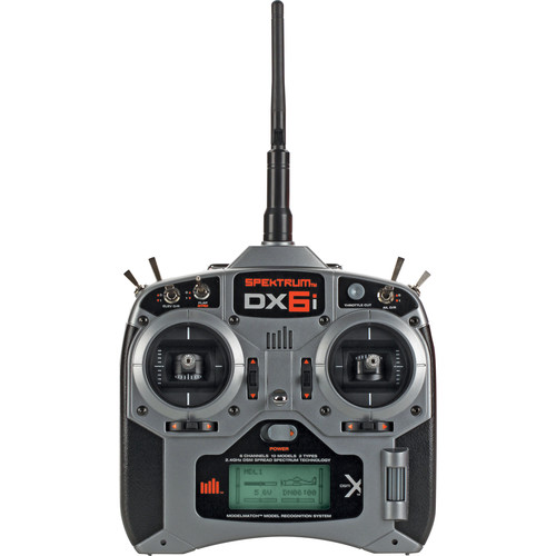 Spektrum DX6i 6-Channel DSMX Transmitter with AR610 Receiver