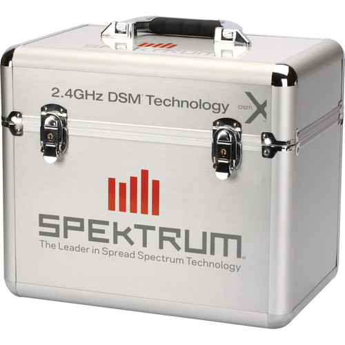 Spektrum Single Stand Up Transmitter Case (Silver)