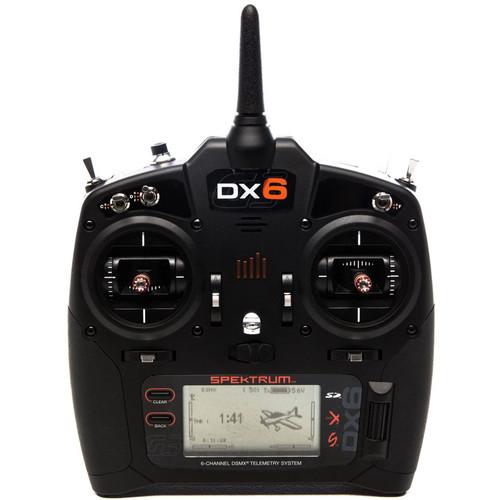 Spektrum DX6 6-Channel DSMX Transmitter with AR6600T Receiver