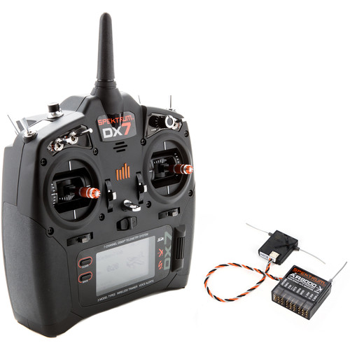 Spektrum DX7 7-Channel DSMX Transmitter for RC Aircraft (Mode 2)