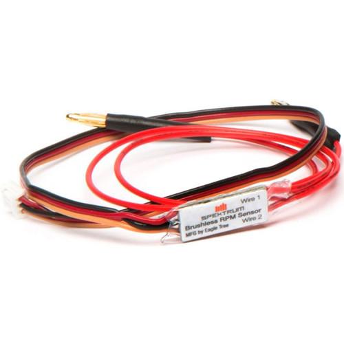 Spektrum SPM DSMR Surface Telemetry Brushless RPM Sensor with Bullets
