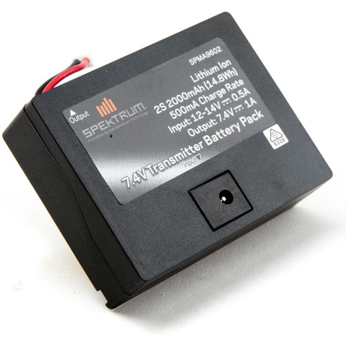 Spektrum 2000mAh Li-Ion TX Battery for DX6G2-3/DX7G2/DX8G2/DXe/DX6e Transmitters