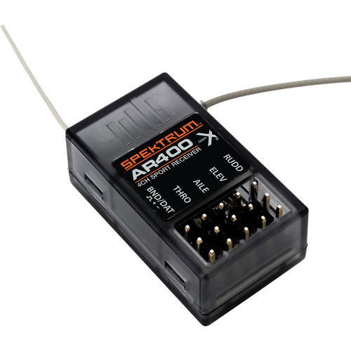Spektrum AR400 4-Channel DSMX RC Aircraft Receiver