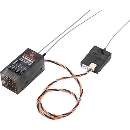 Spektrum AR9310 9-Channel DSMX Carbon Fuselage Receiver
