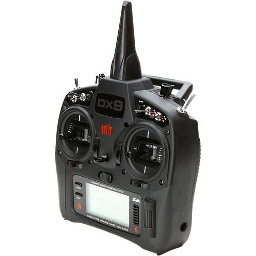 Spektrum DX9 9-Channel DSMX Transmitter for RC Aircraft (Black)