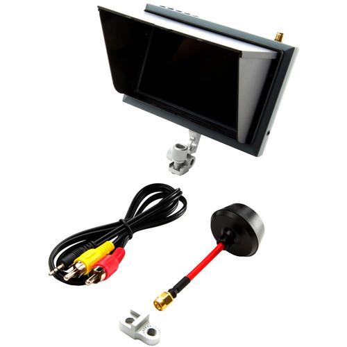 "Spektrum 4.3"" Video Monitor with Sunshade & Mount"