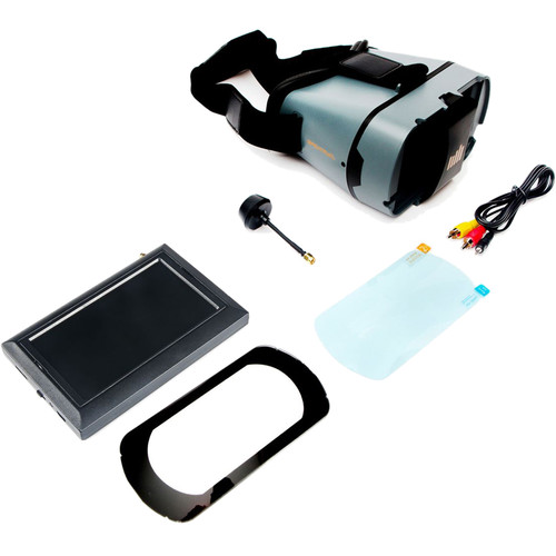 """Spektrum 4.3"""" FPV Video Monitor with DVR and Headset"""