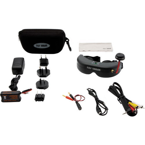 Spektrum Ultra Micro FPV System with Teleporter V4 Video Headset